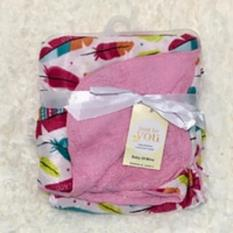 Situs Review Mombaby Selimut Double Fleece 0015 Pink