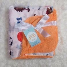 Miliki Segera Mombaby Selimut Double Fleece 0068 Orange