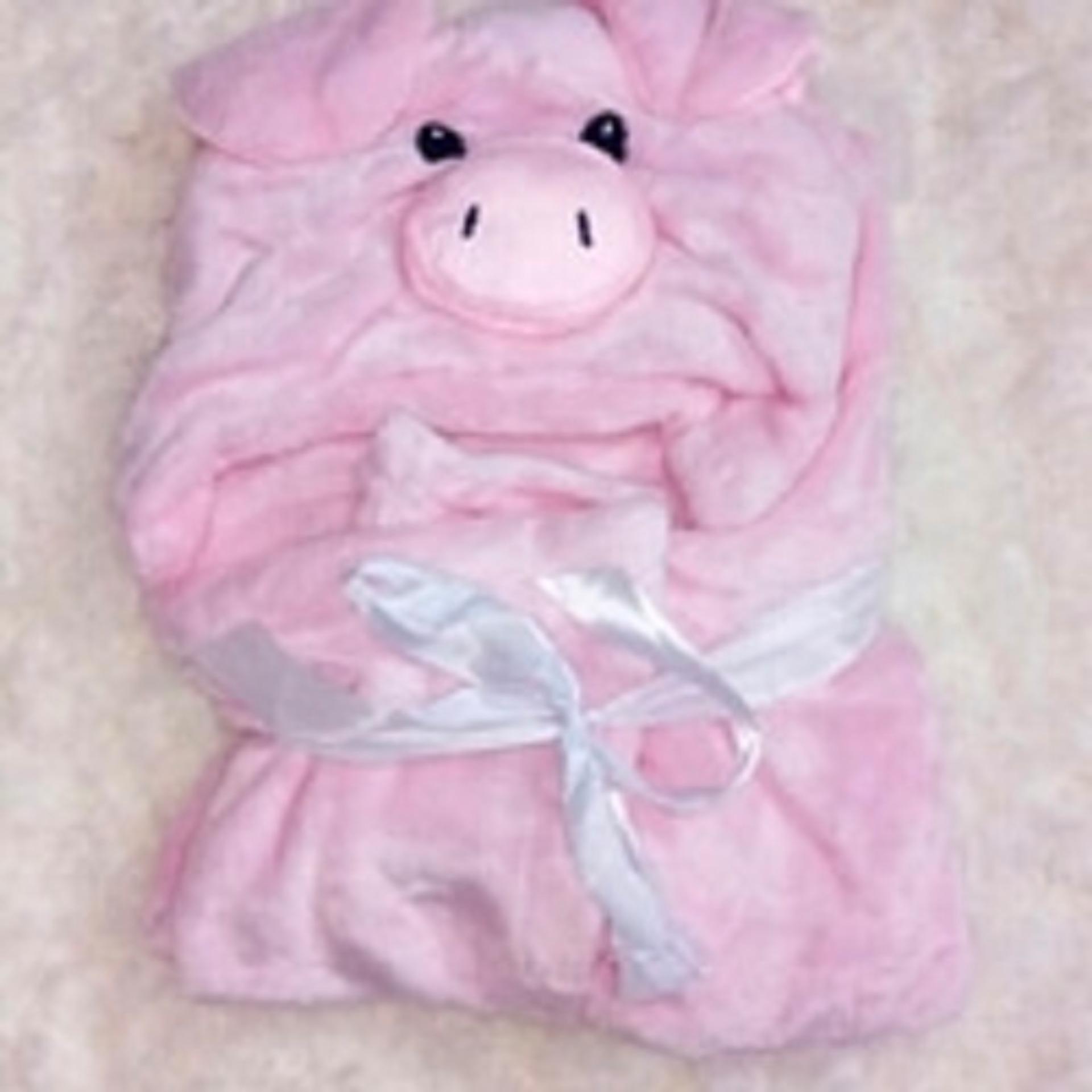Pencarian Termurah MomBaby Selimut Topi Double Fleece Hoodie 3D Blanket Tudung Animal