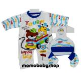 Review Tentang Momo Baby Jumper Set 3 In 1 Animals Jumper Set Bayi