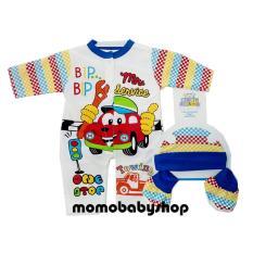 Top 10 Momo Baby Jumper Set 3 In 1 Motif Mobil Jumper Set Bayi Online