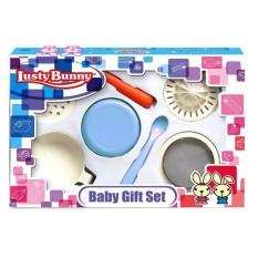 Jual Momo Lusty Bunny Gift Set Baby Food Maker Blue Peralatan Penghalus Makanan Bayi Biru Import