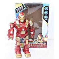 Momo toys Mainan anak -Robot Iron man