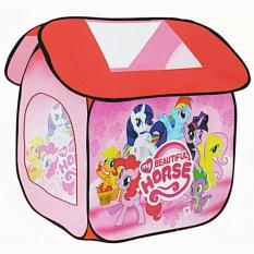 MOMO Toys Mainan Tenda Rumah Ukuran 112x102x114cm SG7009MZ - Mainan Tenda Little Pony