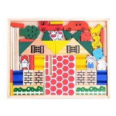 Toko Momo Toys Village Building Block Online Banten