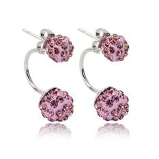 ... Kristal Zirkon Jatuh Anting-Anting. Source · Moonar 1 Pair Women Fashion Berlian Imitasi Bola Chic Ear STUDS Earring-Intl
