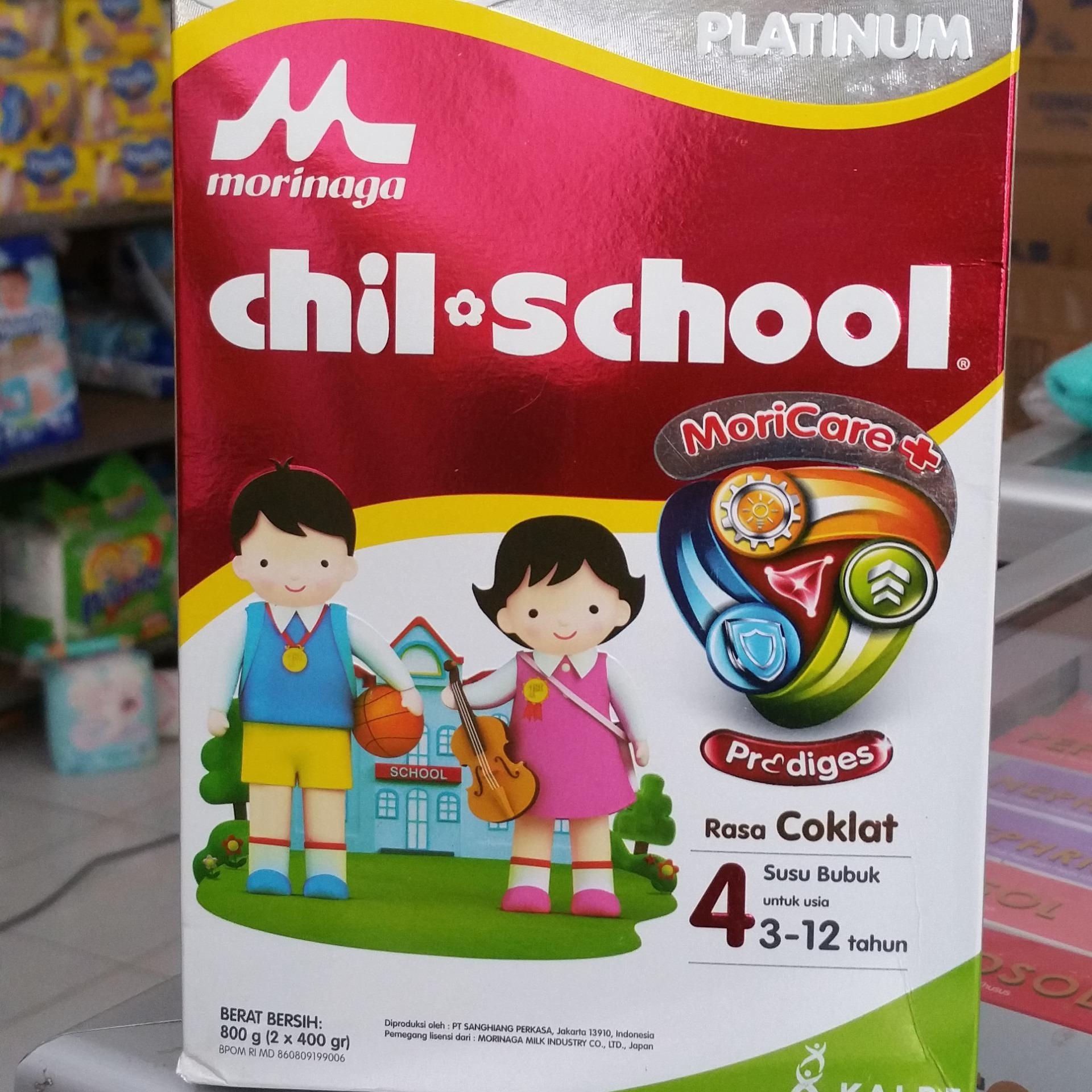 Diskon Morinaga Chil School Platinum Susu Pertumbuhan Chocolate Sisir Twin Coklat Ukuran Besar 800gr