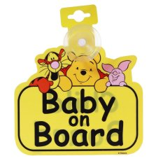 Mothercare Winnie The Pooh Baby On Board Sign
