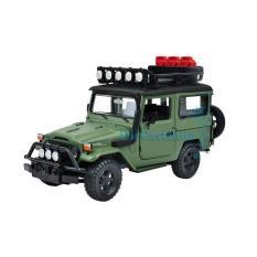 Motormax - Toyota FJ40 Land Cruiser Off Road- Hijau Doff - Skala 1:24 - YL8LVT