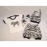 Jual Moya Baby Set Zebra Biru Tua Hitam Moya Grosir