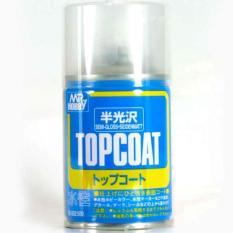 Mr Color B-502 Top Coat Semi -  Cat Gundam Model Kit Spray - Dddca7 - Original Asli