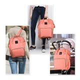 Daftar Harga Multi Fungsional Kapasitas Besar Tahan Air Maternity Nappy Baby Bag Travel Backpack For Perawatan Bayi Orange Oem