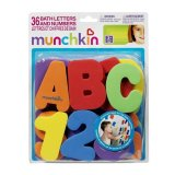 Toko Munchkin Gratis Ongkir Bath Letters And Numbers Mainan Edukasi Anak Usia 3 Tahun Keatas Atau Usia Paud Mainan Anak Saat Mandi Lengkap Di Bali