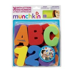 Jual Beli Munchkin Gratis Ongkir Bath Letters And Numbers Mainan Edukasi Anak Usia 3 Tahun Keatas Atau Usia Paud Mainan Anak Saat Mandi Bali