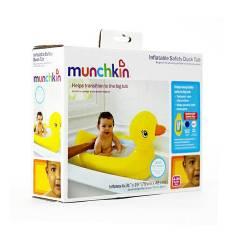 Spesifikasi Munchkin Inflatable Safety Duck Tub Bak Mandi Bayi Bentuk Bebek Beserta Harganya
