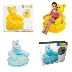 Murah Intex Sofa Air For Kids - Kursi Anak - Bangku Angin Udara - Kado - Uscpeu