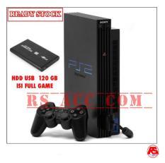 Murah !!! Playstation Ps 2 Sony Fat Tebal Harddisk Usb Hdd 120 Gb + Full Game
