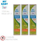 Jual My Baby Minyak Telon Plus 150 Ml 3 Pcs My Baby Murah