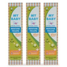 Jual My Baby Minyak Telon Plus 90 Ml 3 Pack My Baby Grosir