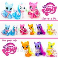 My Little Pony 10 Cm Kostum Pajangan Miniatur Action Figure Kuda Pony - 69Cade - Original
