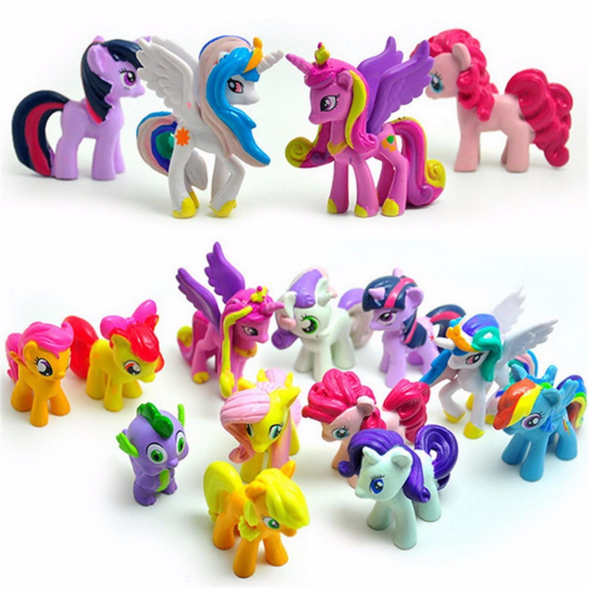 HEMAT My Little Pony Action Figure Set Isi 12 c537dddc10