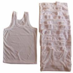 Spesifikasi Mykenzie Baby Singlet Kaos Dalam Putih Polos Size Xl Perlusin 12Pcs Baru