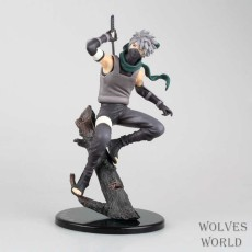 Naruto Hatake Kakashi 21cm Action Figure Boxed Toys PVC Collection Model - intl