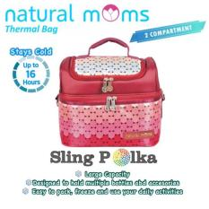 Katalog Natural Moms Cooler Bag Sling Natural Moms Terbaru