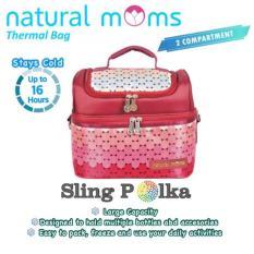 Harga Natural Moms Cooler Bag Sling Online Indonesia