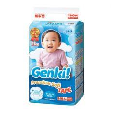 Toko Nepia Genki New Premium Baby Diapers Soft Tape M 64 Di Dki Jakarta
