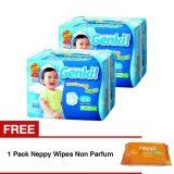 Beli Nepia Genki Pants L30 2 Pack Gratis 1 Pack Neppi Wipes Non Parfum Online