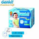 Berapa Harga Nepia Genki Premium Baby Diapers Soft Pants L 30 … L Nepia Di Jawa Barat