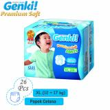 Harga Nepia Genki Premium Baby Diapers Soft Pants Xl 26 … Xl New