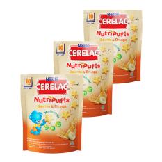 Tips Beli Nestle Cerelac Nutripuffs Banana Orange 50Gr Bundle 3 Bag Yang Bagus