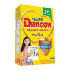 Spesifikasi Nestle Dancow 3 Advanced Excelnutri Susu Pertumbuhan Anak 3 5 Tahun Rasa Coklat 800Gr Online