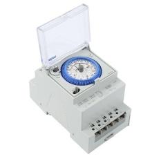 Baru 250VAC 16A Timer Waktu Mekanis Switch Tahan Api Shell IP 20-Intl