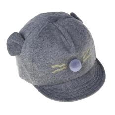 New Baby Hat Cartoon Cat Design Kids Baseball Cap Boys Girls Sun Hat - intl