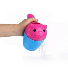 Baru Kartun Lucu Kreatif Sampo Bayi Cup Perlindungan Lingkungan Bayi Cangkir Cuci Bayi Alat Mandi Flusher