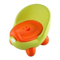 Baru Fashion Baby Potty Kursi Toilet Training untuk Anak-anak Plastik Non-slip Lipat Portable Travel Kursi Bayi Pee Trainer -Intl