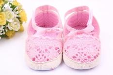 Spesifikasi New Hollow Sepatu Perempuan Bayi Balita Sepatu Bayi Sepatu 1 Tahun 1584 Pink Intl