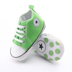 Review Toko New Orok Bayi Laki Laki Anak Anak Sepatu Bayi Sol Lembut Sepatu Kanvas Ukuran 18 Bulan
