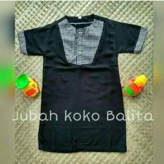 NEW Jubah Koko Balita (Koko Turki / Baju Koko Bayi /Baju Koko Balita / Busana Muslim Anak)