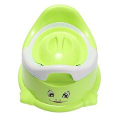 Daftar Harga Baru Kartun Toilet Portabel Pispot Bayi Balita Anak Swivel Pelatihan Hijau Oem