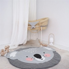 New Soft Cotton Baby Kids Game Gym Activity Play Mat Crawling Blanket Floor Rug 292166895841 - intl