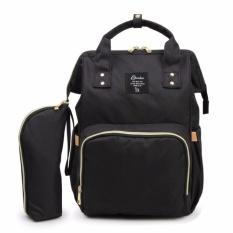 Promo Baru Upgrade Fashion Mummy Maternity Lampin Tas Kapasitas Besar Tas Bayi Travel Backpack Designer Keperawatan Bag Baby Perawatan Intl