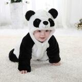 Harga Bayi Bayi Anak Anak Gadis Panda One Piece Long Sleeve Kapas Rompers Pakaian Set Intl Baru