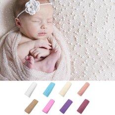 Bayi Bayi Anak Anak Gadis Bungkus Bayi Fotografi Photo Prop Blanket Rug Backdrop Cameo Brown Intl Murah