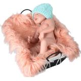 Bayi Bulu Latar Belakang Flanel Selimut Menerima Pink Intl Oem Diskon 50