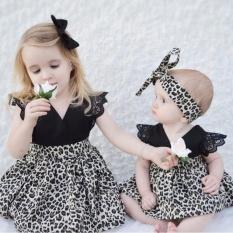 Beli Baru Lahir Bayi Perempuan Baju Monyet Pakaian Kontes Tutu Gaun Jersey Rayon Headband Online Terpercaya