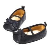 Newborn Gadis Sepatu First Walkers Bow Bayi Sepatu Infantil Sepatu Hitam Inch 12 18 Bulan Promo Beli 1 Gratis 1